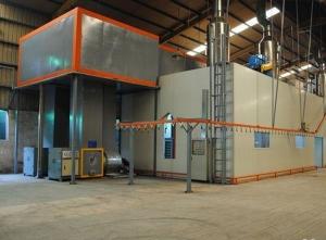 涂装设备流水线建立控制系统保证物料的流动