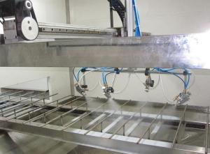涂装设备流水线能够大大提高喷涂的工作效率